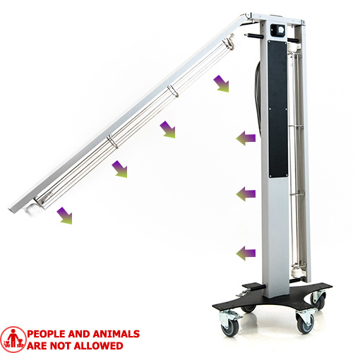 UV desinfection germicidical lamp